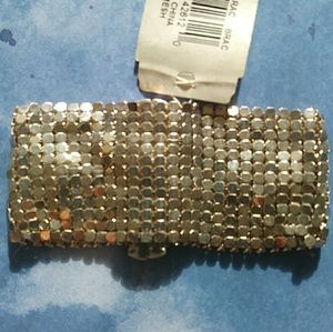 Silvertone Mesh Bracelet by Nine West